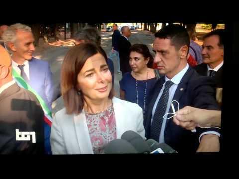 Boldrini cambia nome a Piazza storica di latina : da arnaldo mussolini a paolo borsellino e giovanni falcone