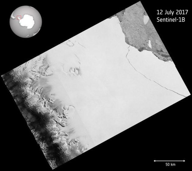 """Antartide, l'iceberg da record si stacca. Le immagini dal satellite: """"Grande due volte il Lussemburgo"""""""