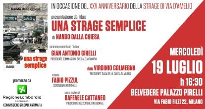 #19luglio, #Milano ricorda #Borsellino