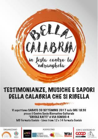 #BellaCalabria – in festa contro la 'ndrangheta