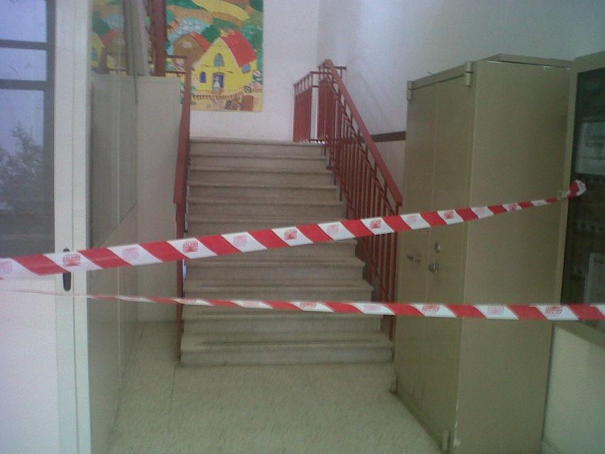 """Crollo alla scuola """"Montini"""", FLC CGIL Molise: si intervenga subito"""