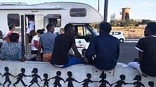 Baobab è diventato un presidio mobile per migranti in transito gestito da volontari