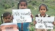 Yemen, mille giorni di inferno, mille bimbi morti, mille scuole distrutte, mille giorni di silenzio