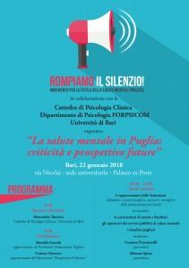 Puglia: Rompiamo il silenzio