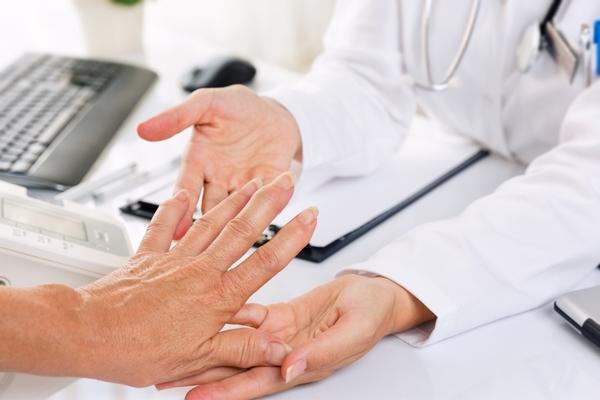 artrite visita medica