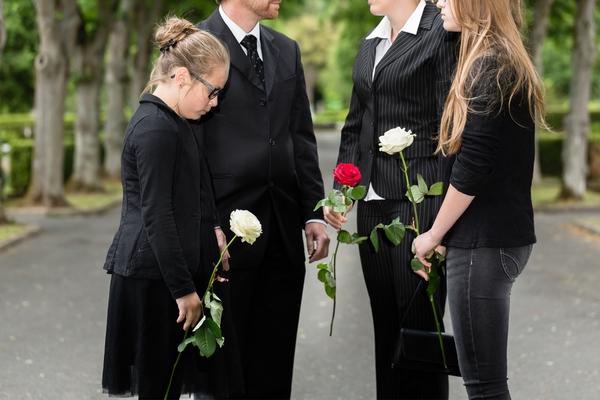 bambina funerale