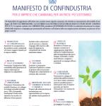 CSR: Confidustria lancia il Manifesto