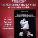 Presentazione saggio: LA MORTE DENTRO LA VITA di Rossella Valdrè
