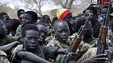 Sud Sudan, più di 300 bambini rilasciati da gruppi armati: tra loro 87 ragazzine