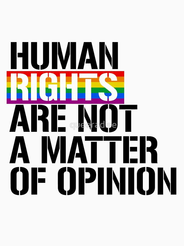 I diritti non sono regole di vita