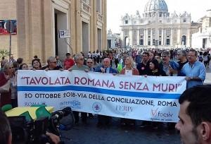 Tavolata romana senza Muri - 20 ottobre (7)