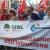 No regionalizzazione istruzione. A Reggio Calabria manifestano CGIL, CISL UIL