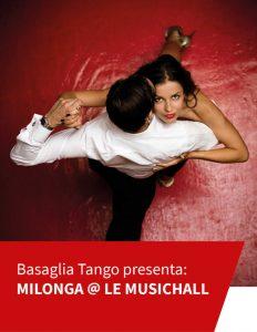 Le Musichall Live Torino, Basaglia Tango in Milonga@Le Musichall