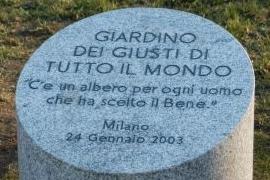 Giardino dei Giusti: i nuovi nomi del 2020 a Milano