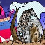 La casa del Fantasma a colori