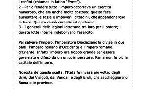 La fine dell'impero romano