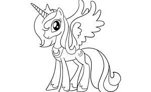 My Little Pony da colorare