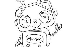 Robot da colorare